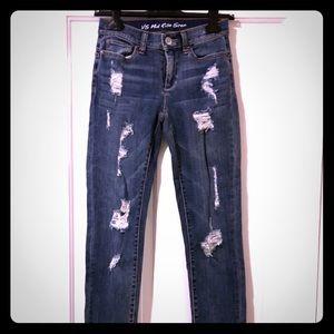 Victoria Secret Mid Rise Jeans, 0 XS 25, new